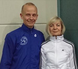 Kursleiter Annette Tertünte und Dirk Keggenhoff