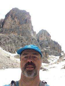 Rainer Wachsmann in den Dolomiten