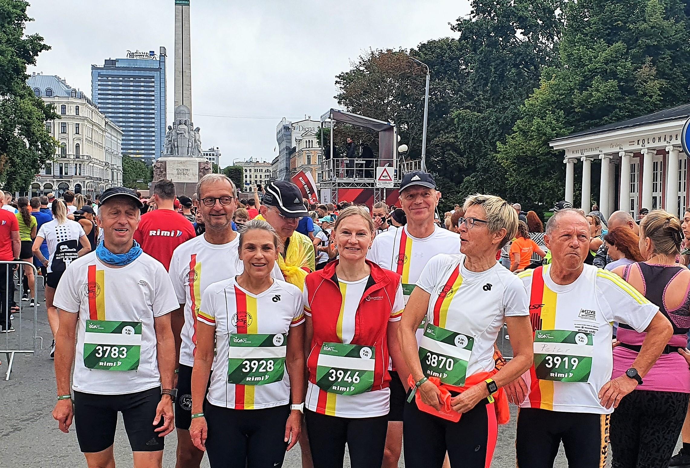 Rimi Riga Halbmarathon 2021 am Start